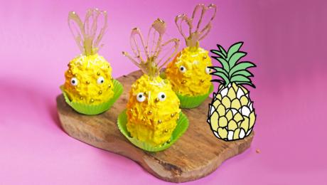 Ananas Cupcakes