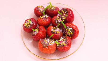 Gevulde aardbeien