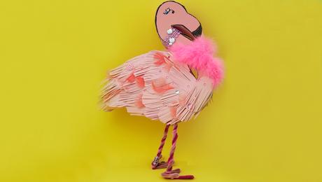 Pink Party Flamingo Surprise