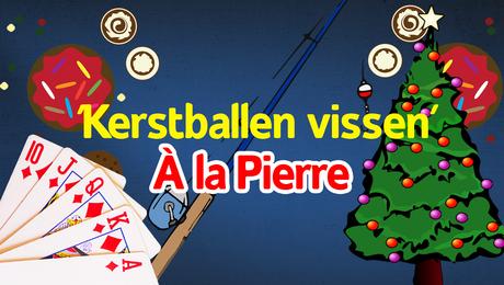 Kerstballen vissen!