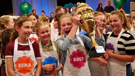 Roos wint CupCakeCup 2017!