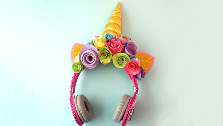 Unicornkoptelefoon