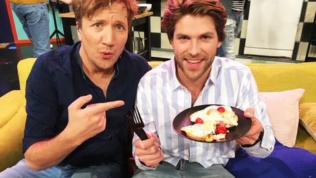 Thomas' gebakken ei met spek en kaas