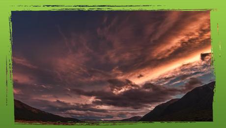 Zonsondergang Nieuw-Zeeland