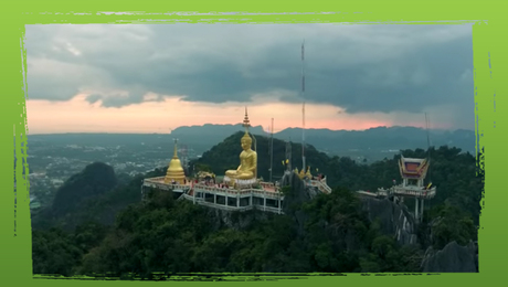 Tempel in de natuur