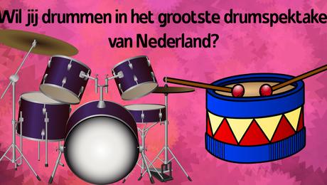 2000 drummers aan zee!