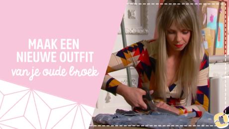 Filmpje: Maak van een broek een rokje!