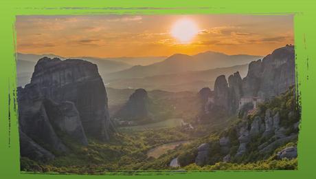 Zonsondergang Griekenland