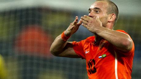 Cadeau voor Wesley Sneijder