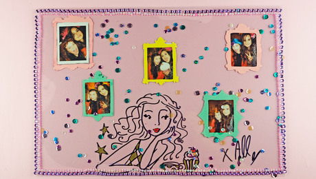 Selfie-Placemat met Bibi - DIY | Jill