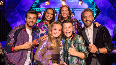 Max & Anne winnen Junior Songfestival