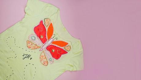 Vlindershirt maken met Fenna