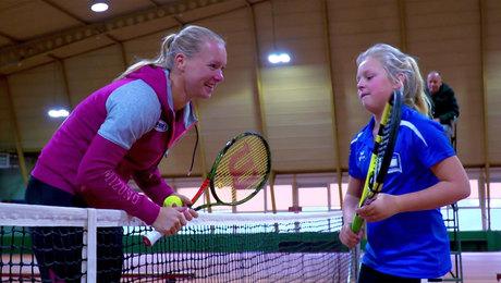 Tennis, Kiki Bertens