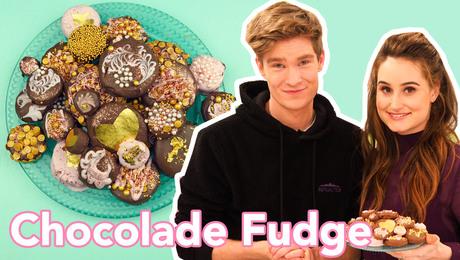 Chocolade Fudge Munten