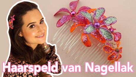Haarspeld van Nagellak