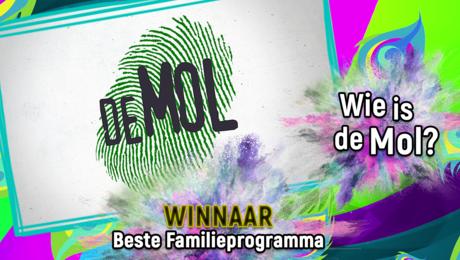 Wie is de Mol? WINT Beste Familieprogramma!