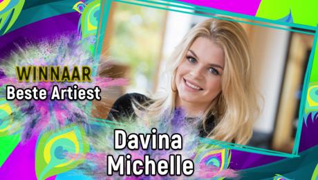 Davina Michelle is de Beste Artiest!