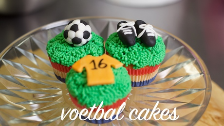 Voetbal cakes