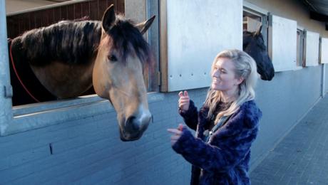 Paardrijden met Britt