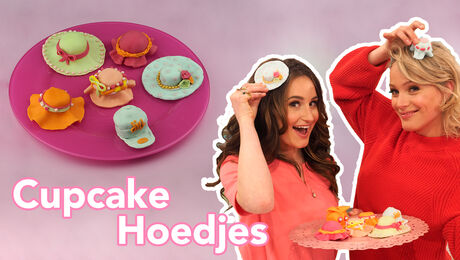 Cupcake Hoedjes