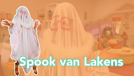 Spook van lakens