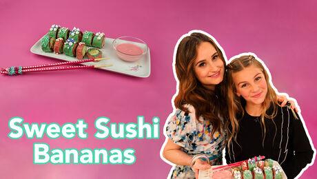 Sweet Sushi Bananen