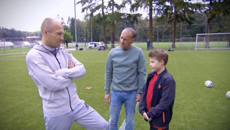 Voetbal, Arjen Robben