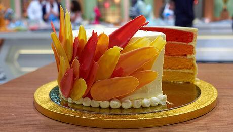 RECEPT OMBRE CAKE