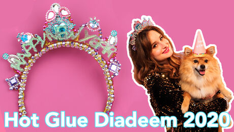 Hot Glue Diadeem