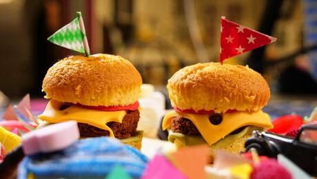 Niks Meer Aan Doen! Hamburgercakes