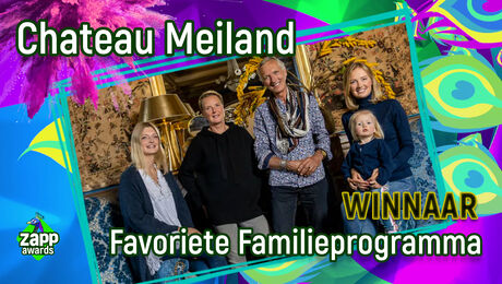 Chateau Meiland wint een Zapp Award!