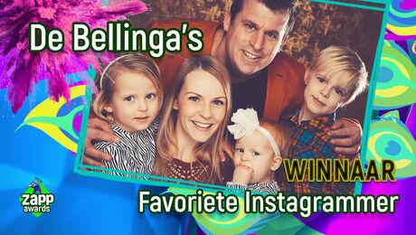 De Bellinga's winnen Favoriete Instagrammer