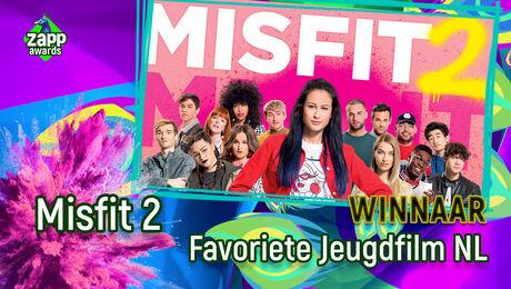Misfit 2 is Favoriete Jeugdfilm NL!