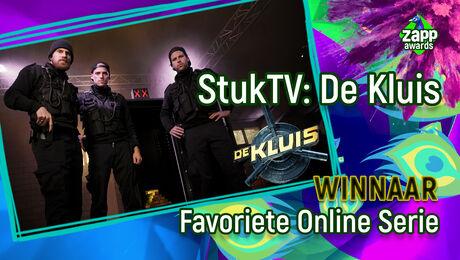 De Kluis van StukTV is Favoriete Online Serie!