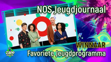 NOS Jeugdjournaal is Favoriete Jeugdprogramma!