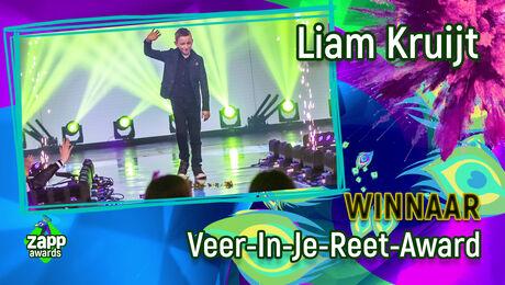 Liam Kruijt wint de Veer-In-Je-Reet-Award!
