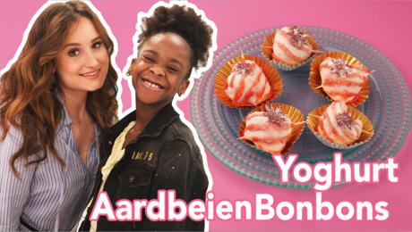 Yoghurt Aardbeienbonbons
