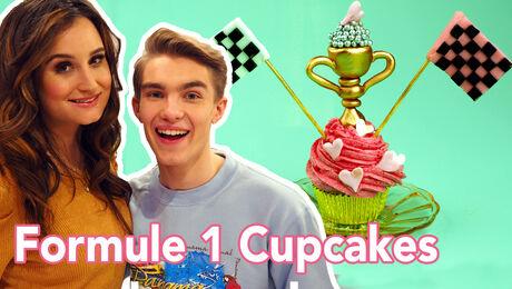 Formule 1 Cupcakes met Quinten