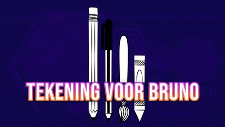 Tekening voor Bruno Bruins