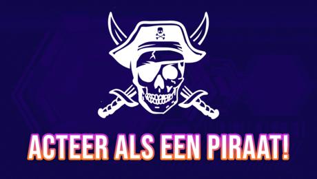 Acteer als een piraat!