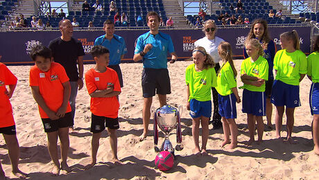 Zaterdag: Battle beachsoccer