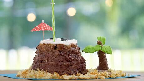 Coconut Island Cake