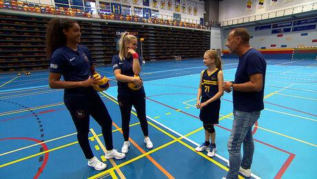 Volleybal met Kirsten Knip en Celeste Plak