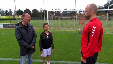 Voetballen met Anco Jansen