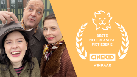 OORLOG-STORIES WINT CINEKID AWARD!