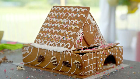 Spektakel bouwwerk van koek