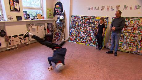 Breakdance met Menno van Gorp