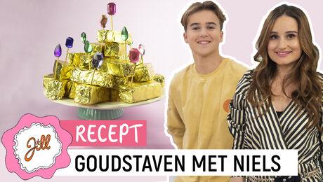 Goudstaven van Boterkoek met Niels