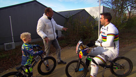 BMX met Twan van Gendt