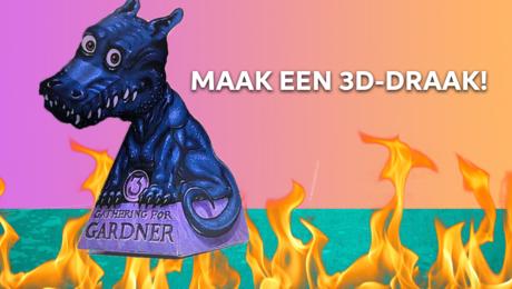 Maak een 3D-draak!